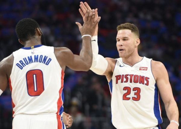 "NBA Spotlight: Blake Griffin and the Pistons ""Snap"" Action"