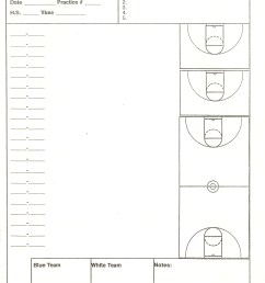 court diagrams for practice drills and plays [ 2550 x 3510 Pixel ]