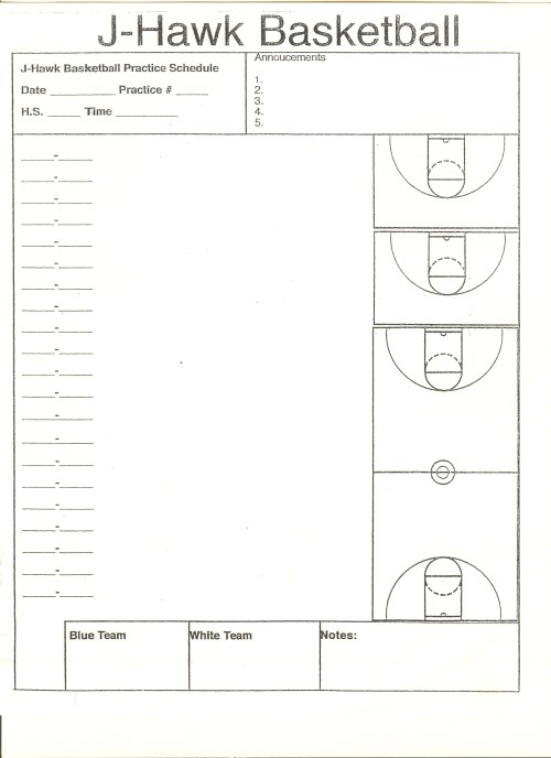 small resolution of court diagrams for practice drills and plays