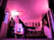 headstand hula hooping