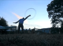 hula hoop dance video