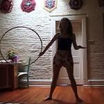 hoop toss hula hoop tricks