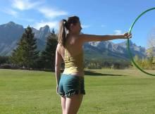 hula hoop tricks