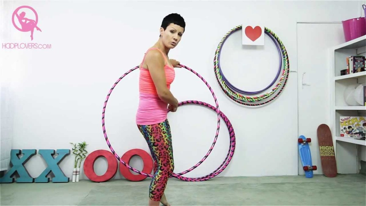 "Hula Hoop Tricks: ""Step Through Variations"" with Deanne Love"