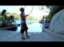 neck spin hula hoop tricks