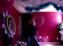 windmill hoop trick hula hoop tricks double twins