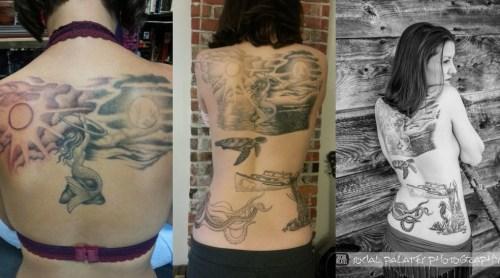 coolest hula hooping tattoos