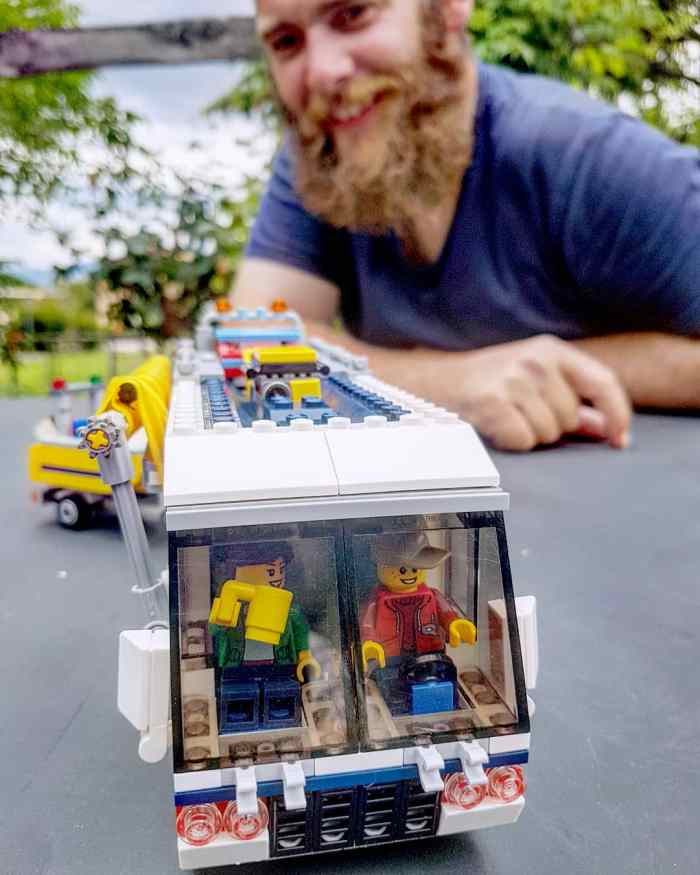 Henry and Lego RV van-House-Sitting-Job-Guide