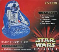 Chaises gonflables Star Wars : Dark Maul, Jar Jar Binks