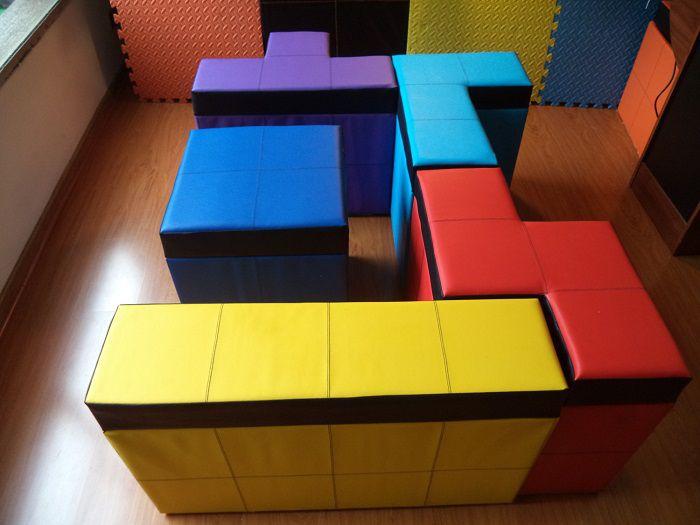 Geek Dco Les Bancs Tetris