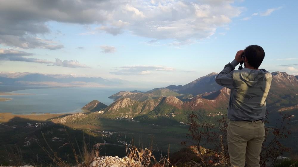 view over Skadar Lake NP