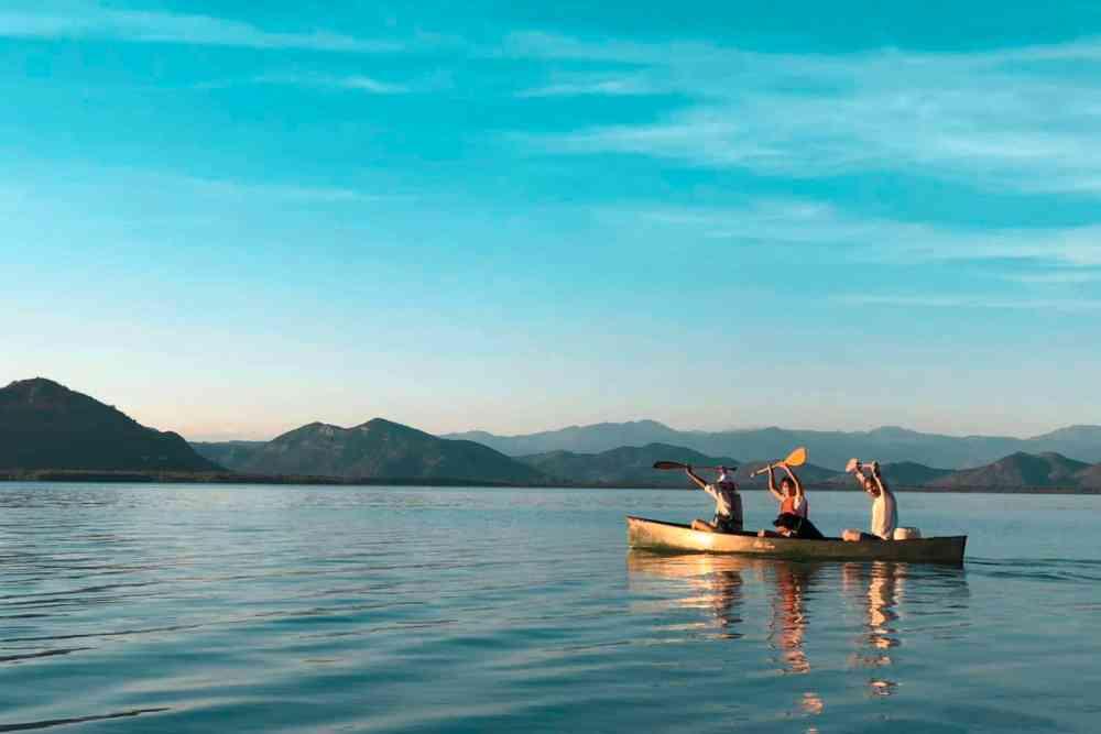 Canoeing Skadar Lake most popular tours