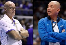"""Photo of Yeng Guiao on Tab Baldwin's comments against Filipino coaches: """"Who is he to say that?"""""""
