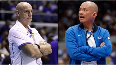 "Photo of Yeng Guiao on Tab Baldwin's comments against Filipino coaches: ""Who is he to say that?"""