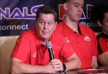 "Photo of Tim Cone: ""We'll find ways to replace Greg Slaughter"""