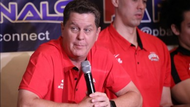 """Photo of Tim Cone: """"We'll find ways to replace Greg Slaughter"""""""