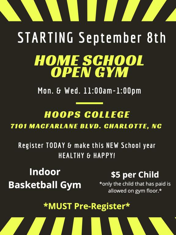 Home School Open Gym