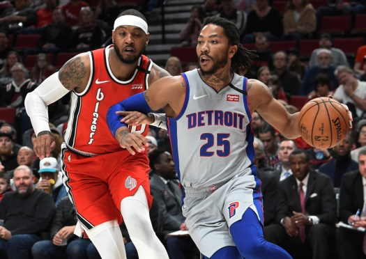 NBA rumors: Knicks, Clippers interested in Derrick Rose trade