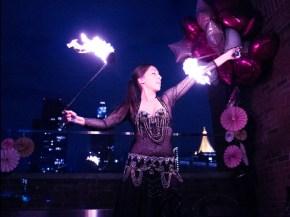 Hoopsie Daisies Fire Dancer