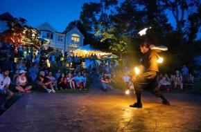 NJ Fire Dancer