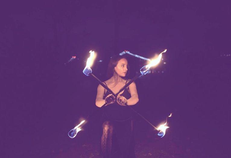 Isabel Fire Dancer