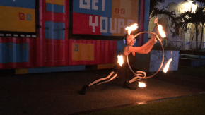 Circus Fire Hooper