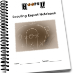 Basketball Scouting Report Notebook