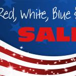 Red, White, Blue & The U. Sale