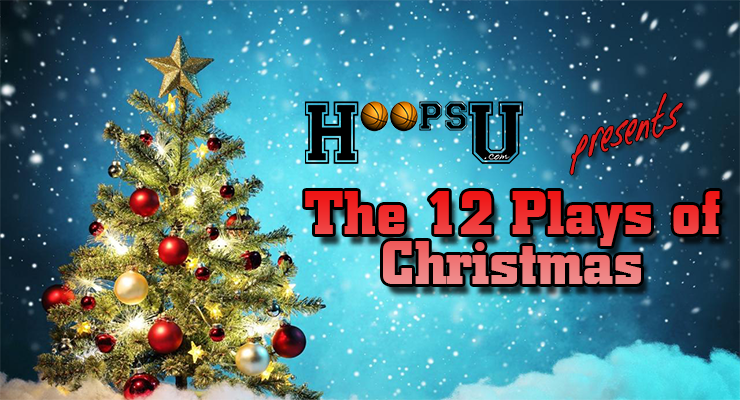 The 12 Basketball Plays of Christmas