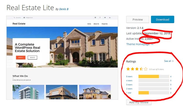 Best FREE Real Estate Wordpress Themes In 2018 Hooquest