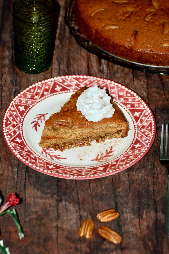 Slice of Holiday Spice Cake
