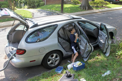 3 Car Hacks for Keeping the Family Vehicle Clean, Safe & Organized