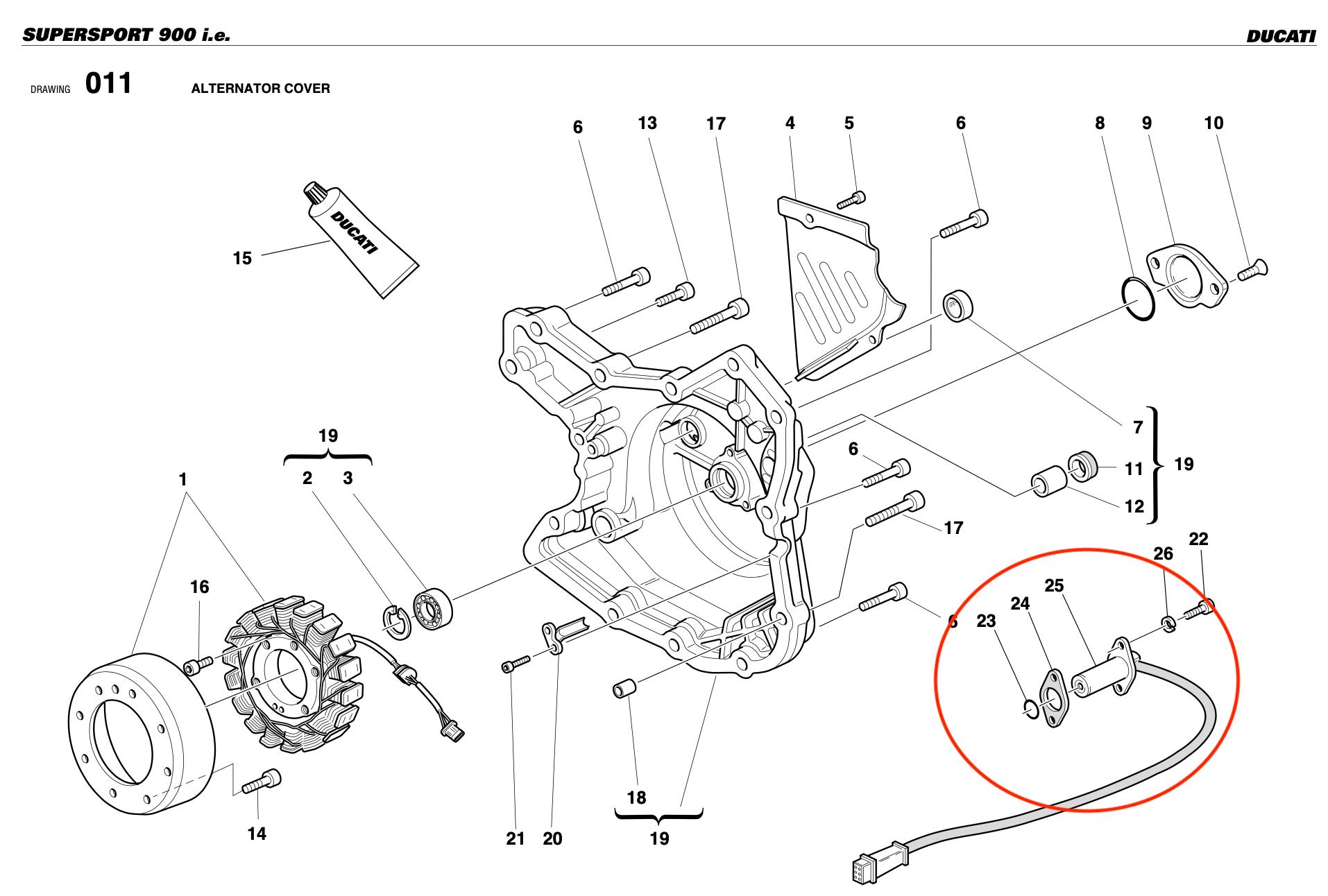 Crankshaft Position Sensor on a Motorcycle — Faults and