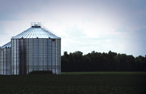 GSI grain farm scene