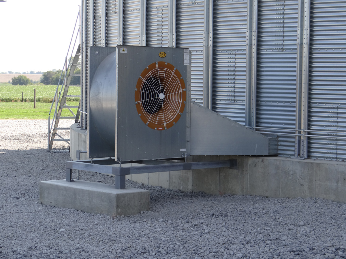 Fans & Heaters for Grain Storage