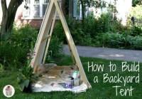 Backyard Camping: Campfire S'mores - Hoosier Homemade