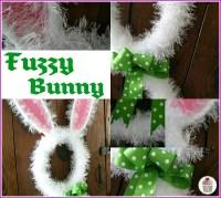 Bunny Door Decoration - Hoosier Homemade