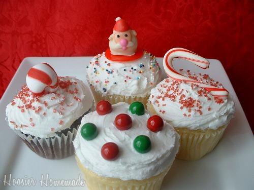 Christmas Cupcakes Decoration