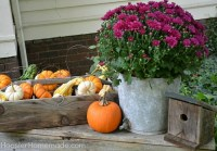 Fall Outdoor Decorating: Window Boxes - Hoosier Homemade