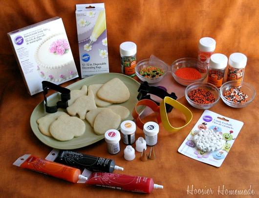 Halloween Sugar Cookies  Hoosier Homemade