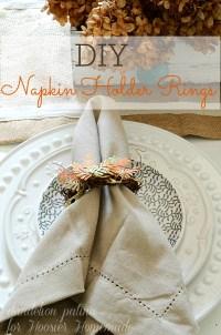Grapevine Wreath Napkin Rings - Hoosier Homemade