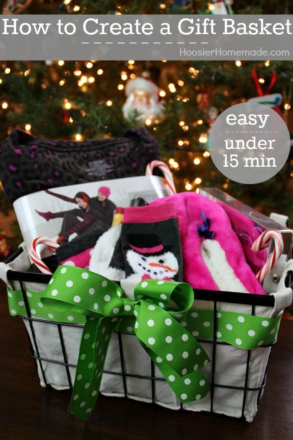 Christmas Gift Basket Themes