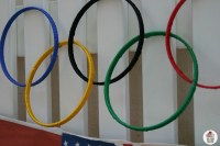 Olympic Rings Decoration - Hoosier Homemade