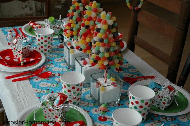 Christmas Kiddie Breakfast Gumdrop Trees Hoosier Homemade