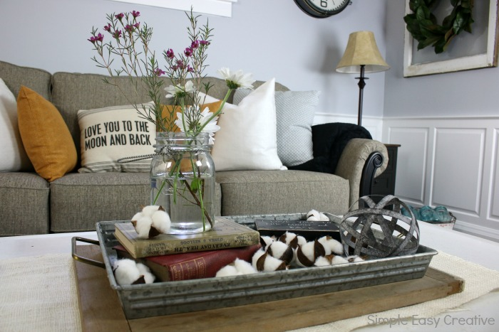 Modern Farmhouse Living Room Makeover Hoosier Homemade