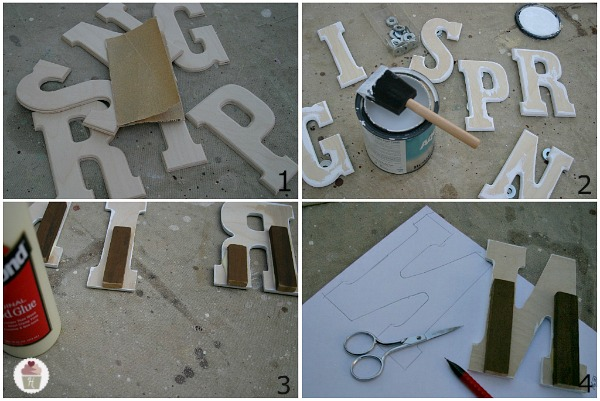 Crafts Wood Letters