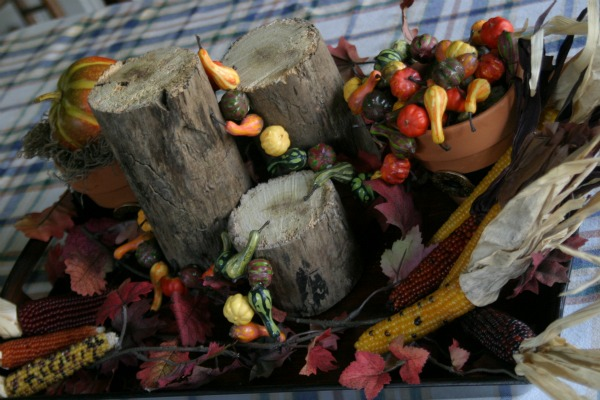 Thanksgiving Countdown Day 6 Table Centerpieces