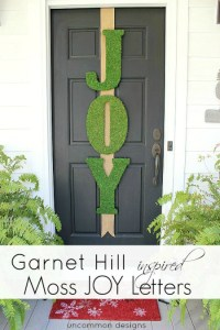 Christmas Door Decoration: Homemade Holiday Inspiration ...