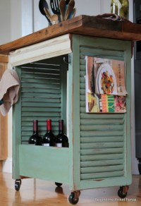 Upcycled Ideas for DIY Window Shutters