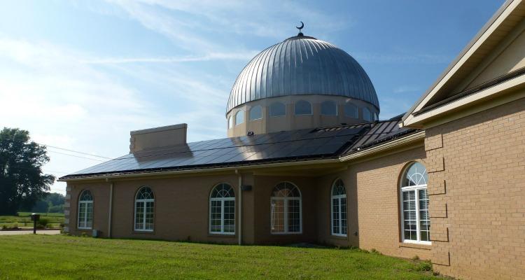 Islamic center of Evansville, solar panels, H-IPL